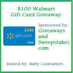 $100 Walmart Gift Card Giveaway – Over