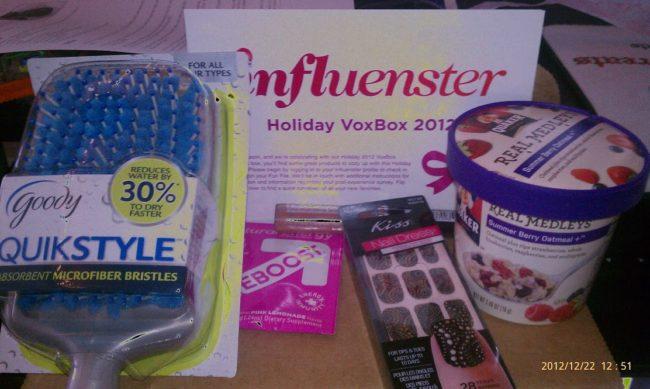 Influenster Holiday Vox Box