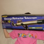 Omega Refractor Telescope Giveaway – Over