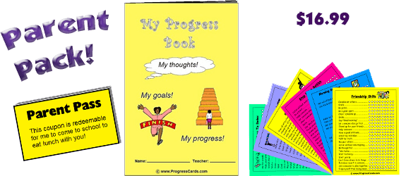 Help Your Kids Achieve Their Goals with Progress Cards