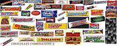 Chocolate bar compilation