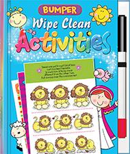 Bumper Wipe Clean Activities Review
