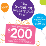 "Earn Cash Back From Babies ""R"" Us Sweetest Registry Deal"