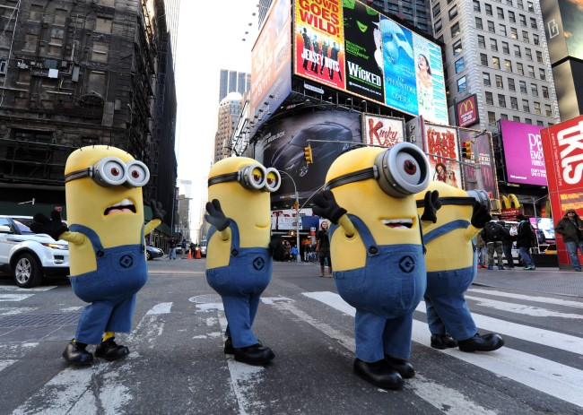 Minions Has Taken Over Manhattan: Free Activity Sheets for Thanksgiving