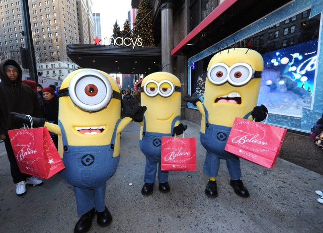 Despciable Me 2 Minions in Manhattan