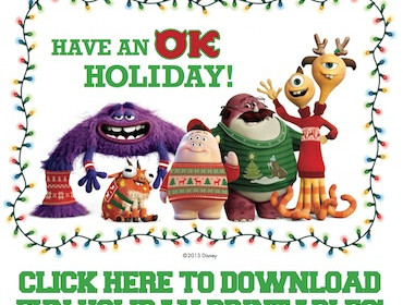 Season's Greetings from the Monster's University Crew