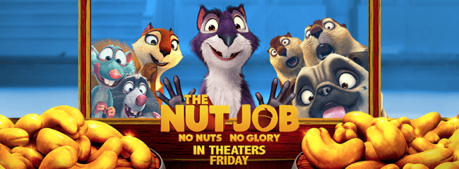 The Nut Job Opens In Theaters 1/17