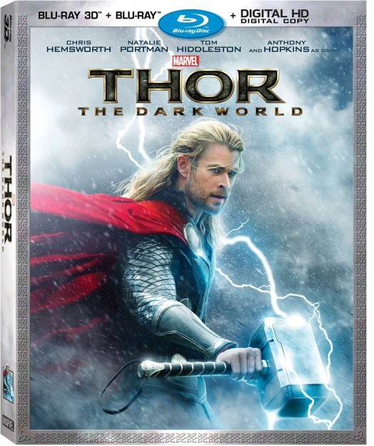 Thor Dark World on Digital 2/4 and Blu-Ray 2/25