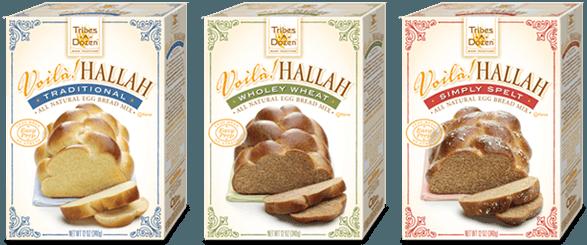 Tribes a Dozen Voila Hallah Bread Mixes Review