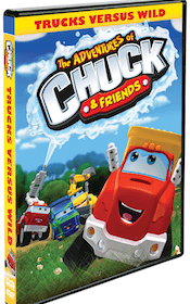 The Adventures of Chuck & Friends: Trucks Versus Wild Coming to DVD 1/21