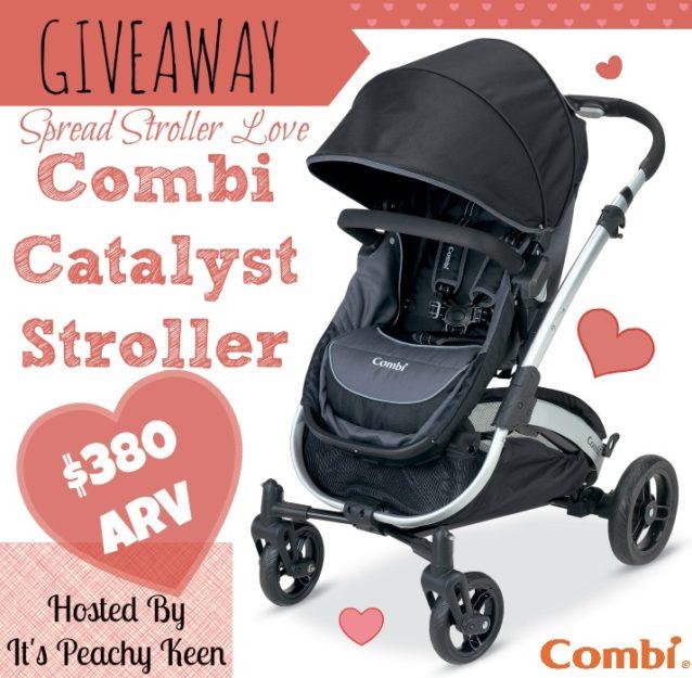 COMBI Catalyst Stroller Giveaway #CombiLove
