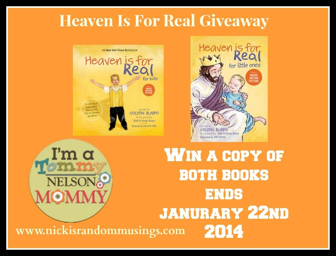 heaven giveaway