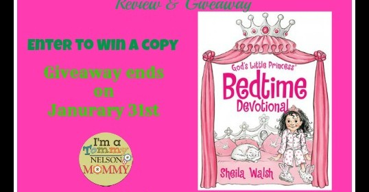 God's Little Princess Bedtime Devotional Review & Giveaway