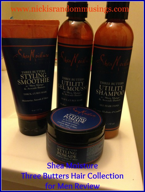 Shea Moisture Three Butters Hair Collection For Men Review