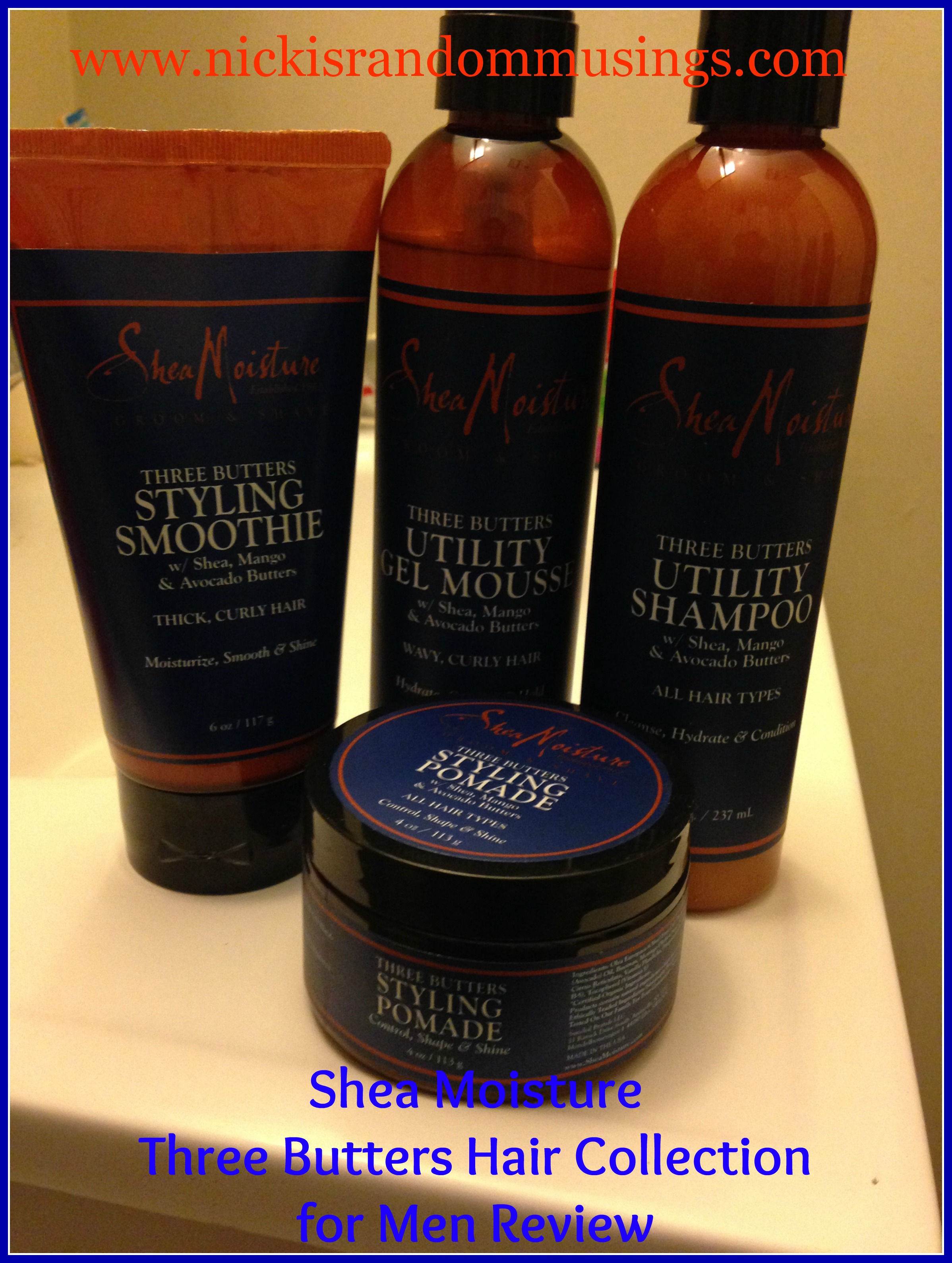 Shea moisture products for men