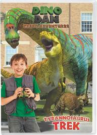 Dino Dan Trek's Adventures: Tyrannosaurus Trek Review & Giveaway
