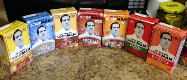 Celebrating National Soup Month with the Original SoupMan #SoupManFan #ad