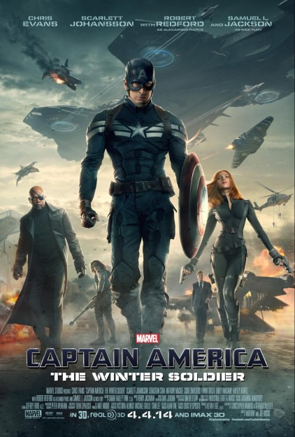 New Captain America: The Winter Soldier Posters & Trailer