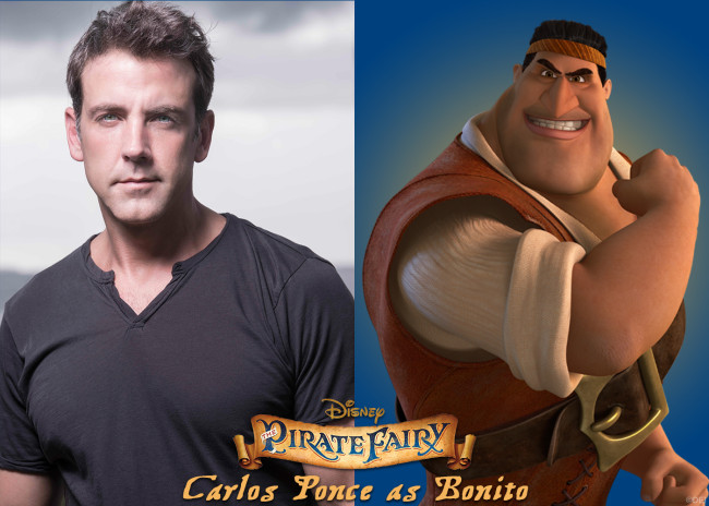 Carlos Ponce Joins the Cast of Disney's The Pirate Fairy