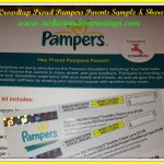 Crowdtap Proud Pampers Parents Sample and Share