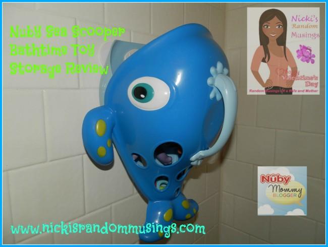 Nuby Sea Scooper Bathtime Toy Storage Review
