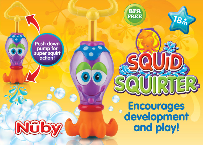 Nuby Squid Squirter Review