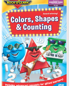 Rock N Learn Colors, Shapes & Counting Review