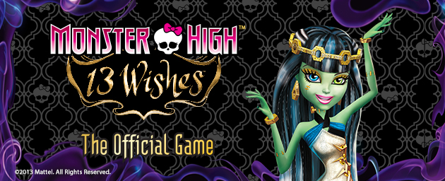 Monster High 13 Wishes Video Game Review