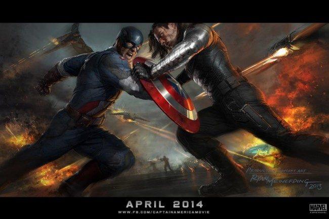New Captain America Film Clips