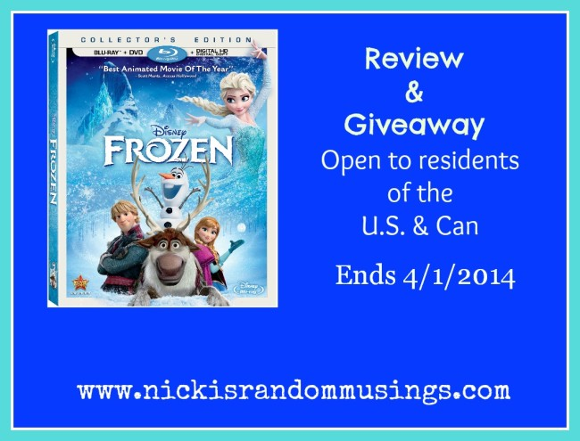 frozen giveaway