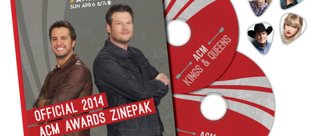Official 2014 Country Music Awards Zine Pak Giveaway