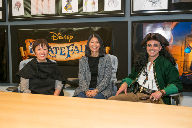 Tuesday 10: Pirate Fairy Animation Team
