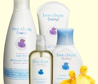 Live Clean Baby Bath Collection