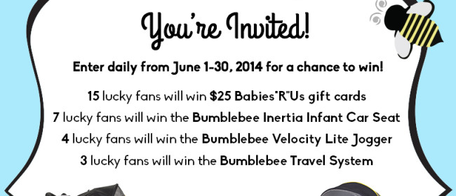 Buzz Into Summer with Baby Trends Giveaway