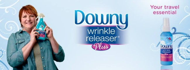 Skip Your Ironing with Downy Wrinkle Releaser Plus