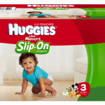 Stop The Chase and Use Huggies Slip On Diapers #sponsored #MC #FirstFit
