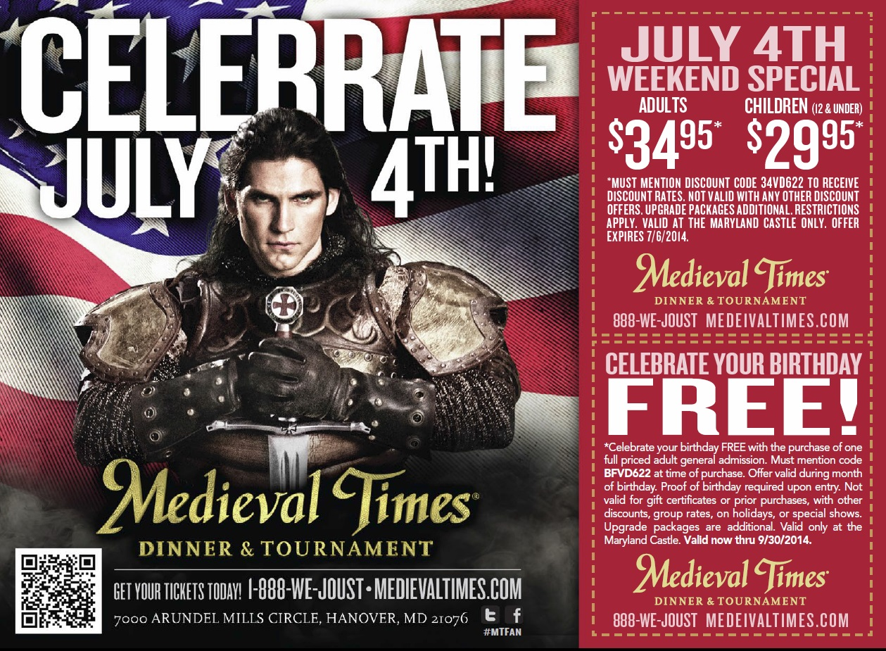 You'll never forget Medieval Times Dallas dinner theater! With pure-bred horses, knights in combat, falconry, swordplay, jousting - will your champion win?