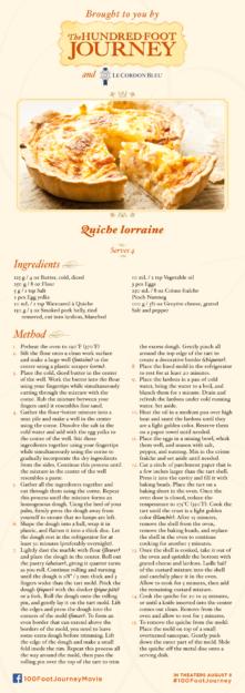 Quiche Lorraine Recipe