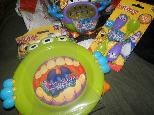 Nuby Mommy Monster Set Review