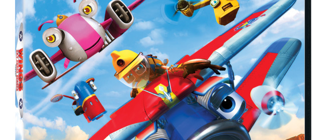 Wings: Sky Force Heroes DVD Review & Giveaway
