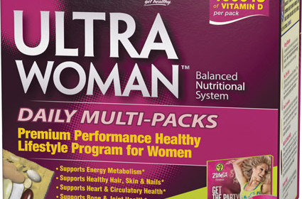 Vitamin World's Zumba Ultra Woman Multi-Packs