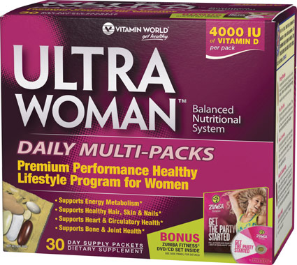 vitamin world s zumba ultra woman multi packs nicki s