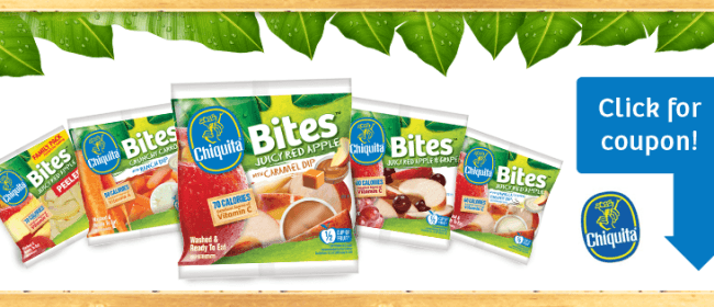Chiquita Bites Review and Giveaway