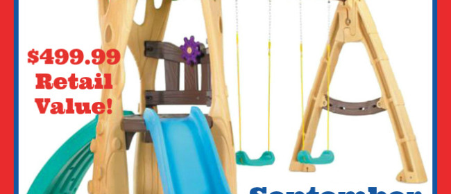 Little Tikes Tree House Swing Giveaway