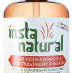Insta Natural Argan Oil Hair Elixir Treatment Review
