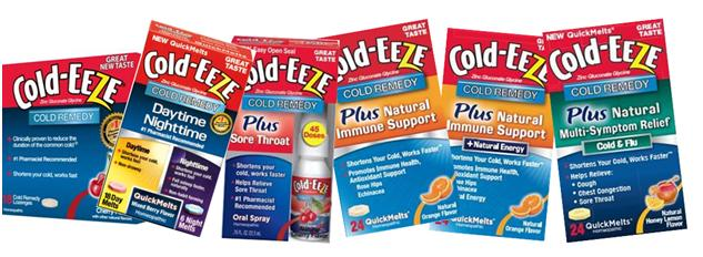 Cold-EEZE Cold Remedy Gift Pack Giveaway