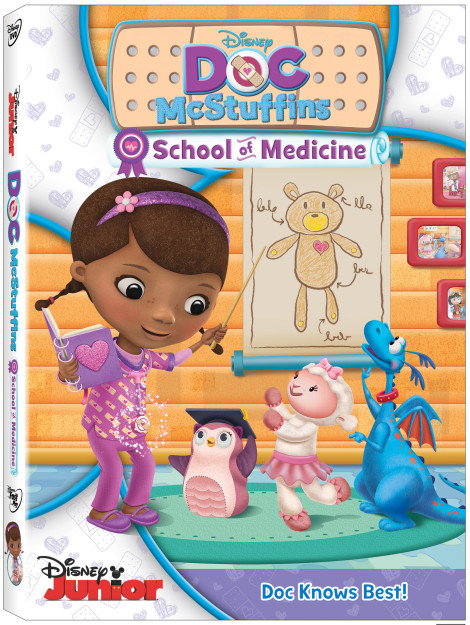 Doc McStuffins School of Medicine in Session Now