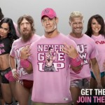 WWE Goes Pink for Breast Cancer Awareness Month