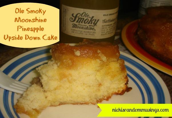Ole Smoky Moonshine Pineapple Upside Down Cake