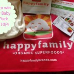 Happy Baby Gift Pack Giveaway